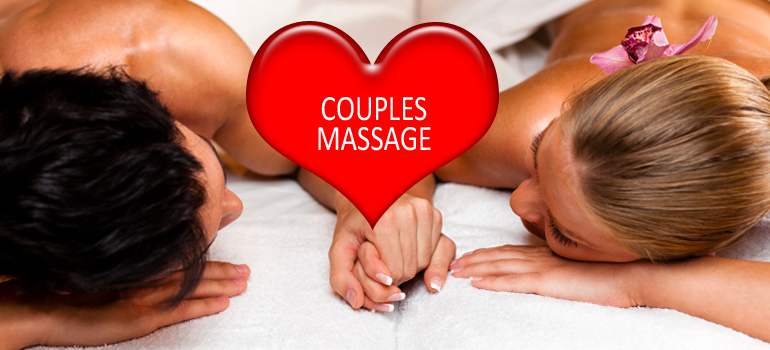 Valentines Day Couples Massage Spa